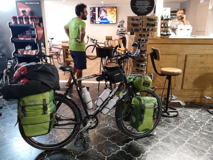 Café vélo à Nîmes